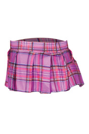 25074-Light Purple / Plaid