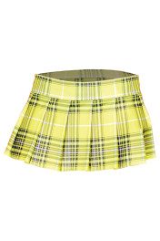 25074-Neon Yellow / Plaid